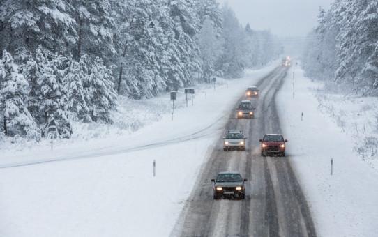 winter commuting